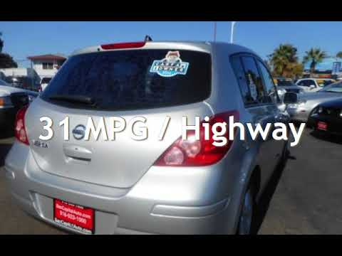 2007 Nissan Versa 1.8 S * Gas Saver * Sporty Hatchback * Super Clean for sale in SACRAMENTO, CA