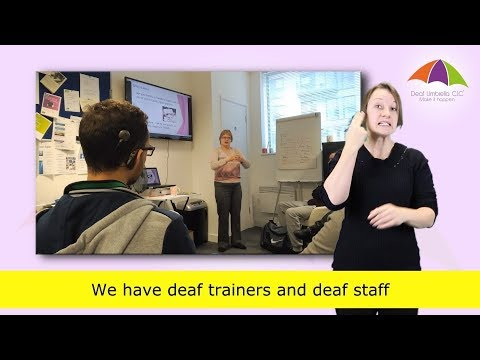 Job Club for Deaf and Hard of Hearing People - YouTube