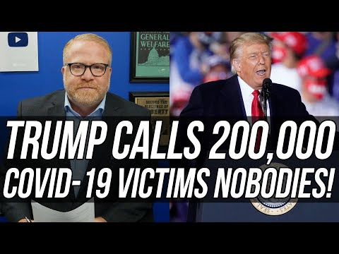 W/ 200,000 U.S. Deaths Trump The Ghoul Told Ohio Rally Crowd Covid-19