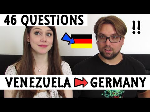 Moving to GERMANY from VENEZUELA - 46 QUESTIONS to Eric!