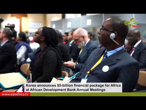 Korea announces $5-billion financial package for Africa