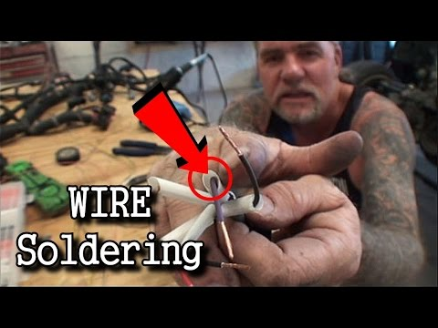 How To Solder Wires THE RIGHT WAY | Automotive Wiring Tech TIps