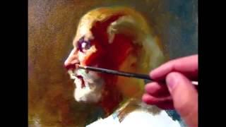 Нарисовать Профиль, 140 минут алла прима картины демо