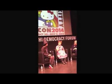 Yuko Yamaguchi and Marie at Hello Kitty Con 2014 5