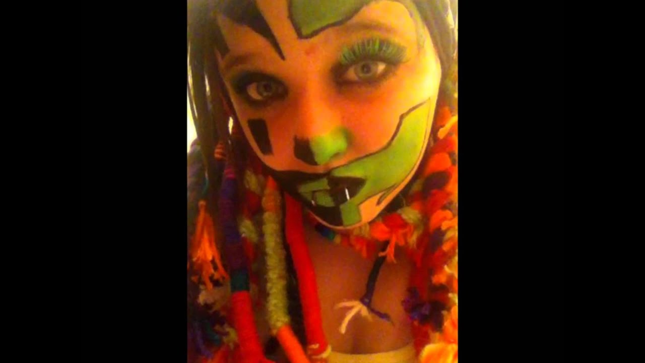 Juggalette Face Paint Ideas We all love face paint 2! - youtube