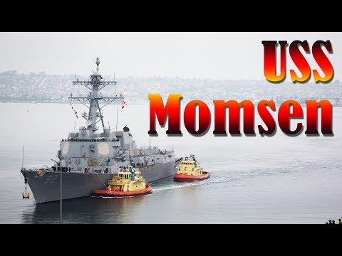 USS Momsen at the Port of Alaska