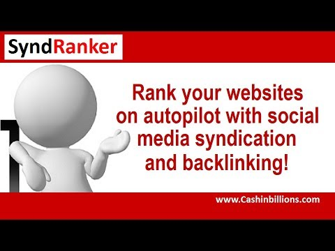 Syndranker Review Demo Video | Social Media Syndication Webinar Training