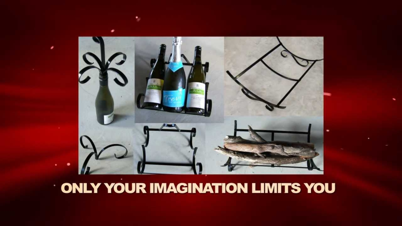 Ornate Wrought Iron Metal Bending Scroll Jigs Youtube