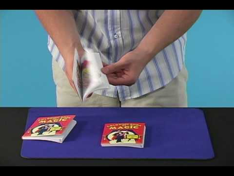 coloring book monte magic trick penguin magic youtube - Coloring Book Magic Trick