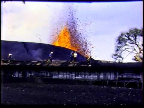 1959 Kīlauea Iki Eruption Footage