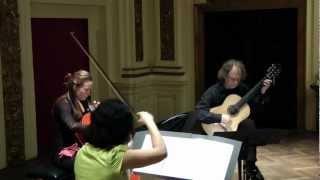 """N. Paganini: Terzetto, I. Allegro con brio - """"Boccherini Ensemble"""""""