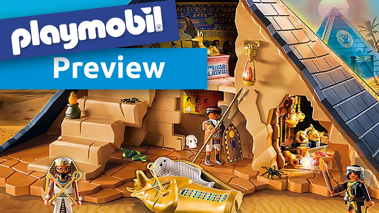 playmobil 5386 pyramide des pharao youtube. Black Bedroom Furniture Sets. Home Design Ideas