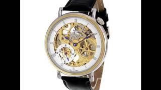 une montre de luxe en or