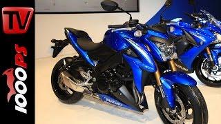 Suzuki GSX-S1000 2015 | Infos zu Leistung und Gewicht