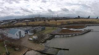 ODU Sailing Center Lafayette River - DJI Phantom 2 Vision Plus