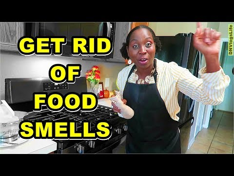 How To Get Rid Of Food Smell In The House | DNVlogsLife