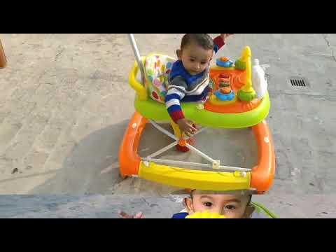 Lakdi ki kathi | Masoom | baby running in Walker |
