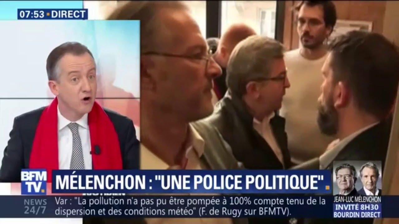 """ÉDITO - L'attitude de Mélenchon lors des perquisitions est """"indéfendable"""""""