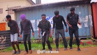 A New Police Parade Anthem |Broda Shaggi | Officer Woos | Police Comedy