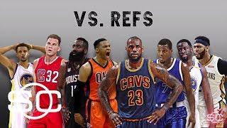 Tensions are high between NBA players and officials | SportsCenter | ESPN