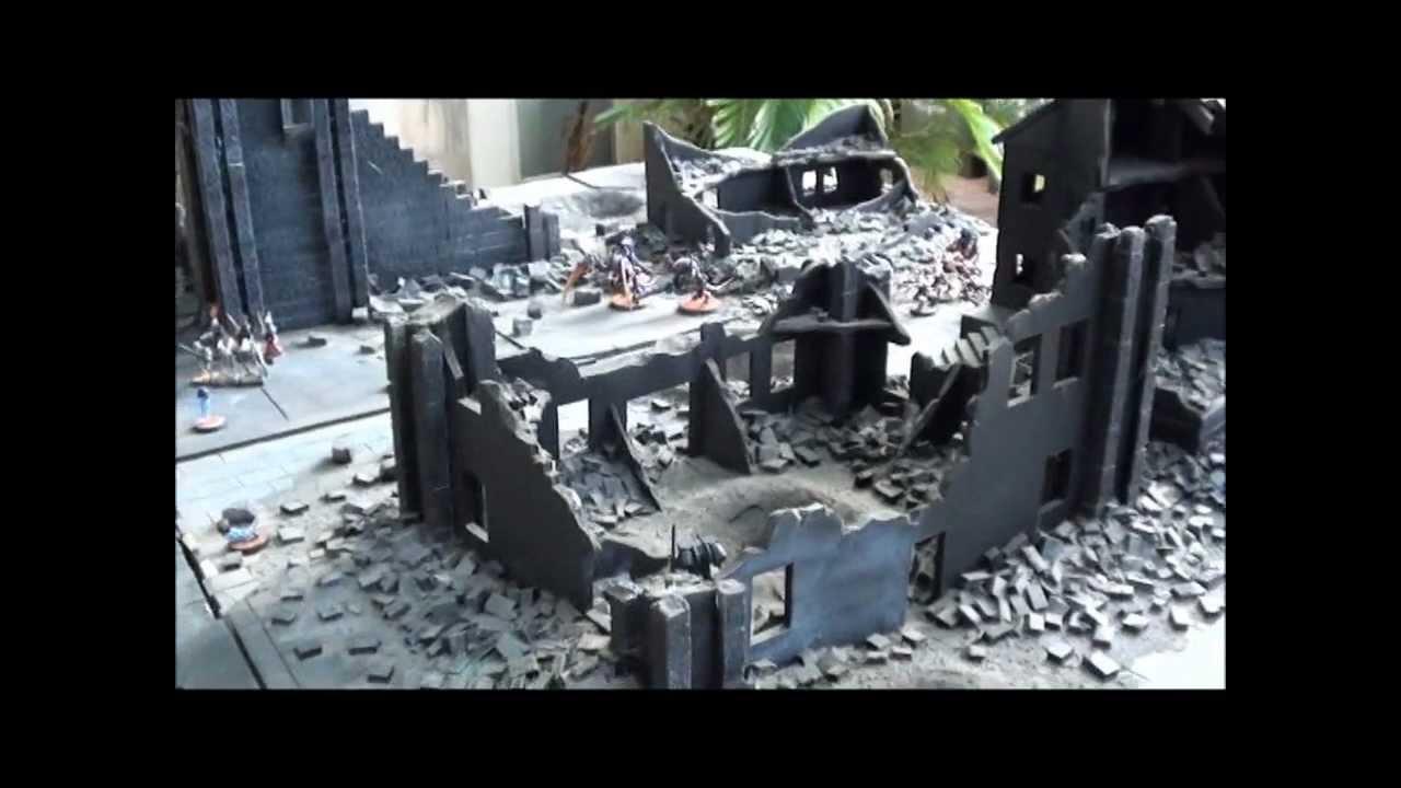 Epic Urban Tabletop Wargame Terrain Scenery Youtube