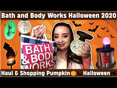 Bath And Body Works Halloween 2020 Haul & Shopping  Come With Me  Monica Matches