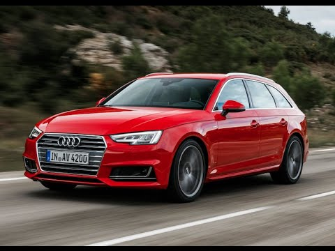 new audi a4 avant 2016 test drive youtube. Black Bedroom Furniture Sets. Home Design Ideas
