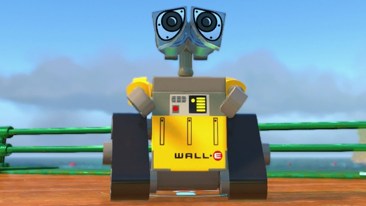 LEGO The Incredibles - WALL-E Unlock Location + Gameplay Showcase