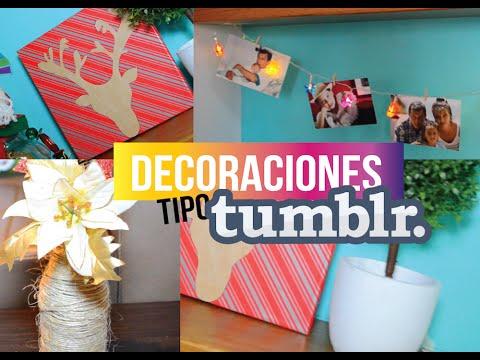 Diy decora tu cuarto en navidad estilo tumblr br jula de Manualidades para decorar tu cuarto
