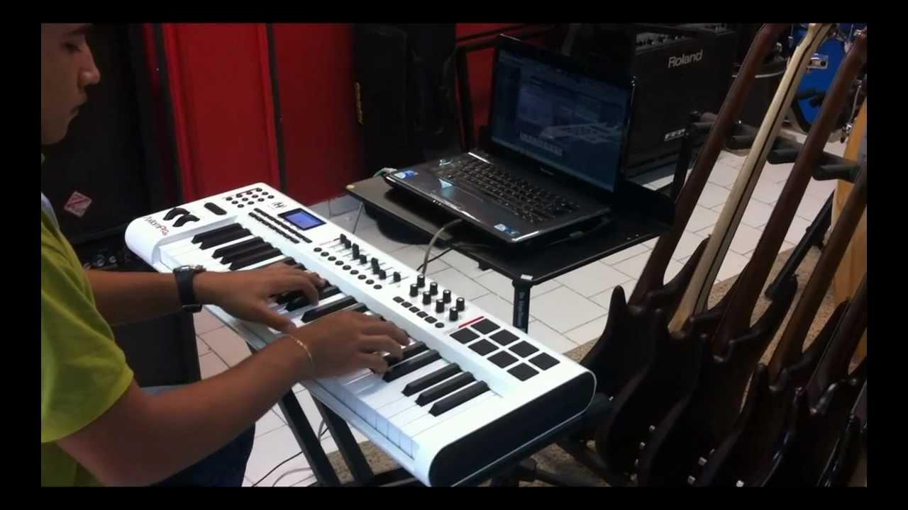 m audio axiom pro 49 manual