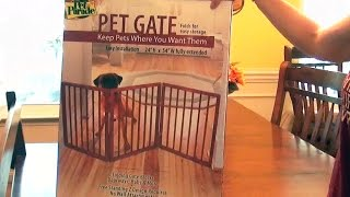 Pet Parade Folding Pet Gate Review (dog Fence Barrier)