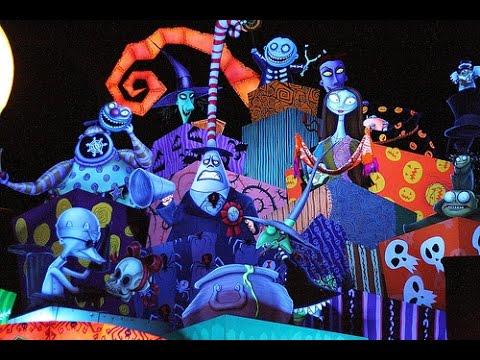 Tim Burton's Nightmare Before Christmas Haunted Mansion ...