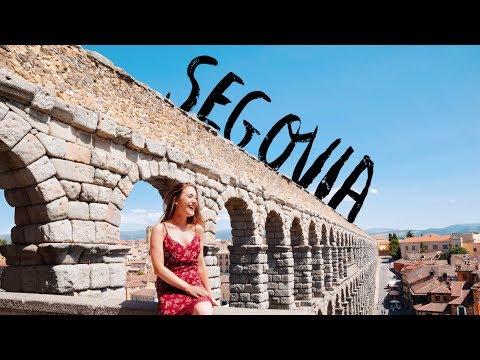 Segovia, Spain | Roman Aqueduct, The Real Disney Castle and More