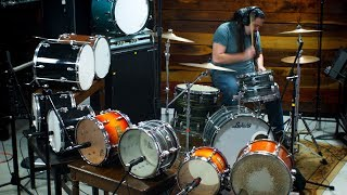 Using 9 Drums to Record a Kit - Can You Have Too Big of a Drum Sound?