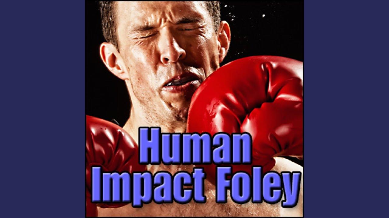 Body, Fall - Parachute Failing, Hard Body Impact on Ground, Human Impact  Foley