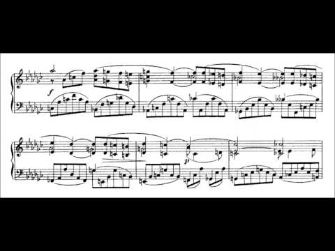 Sergei Bortkiewicz - Prelude, Op. 6 No. 1 (audio + sheet music)