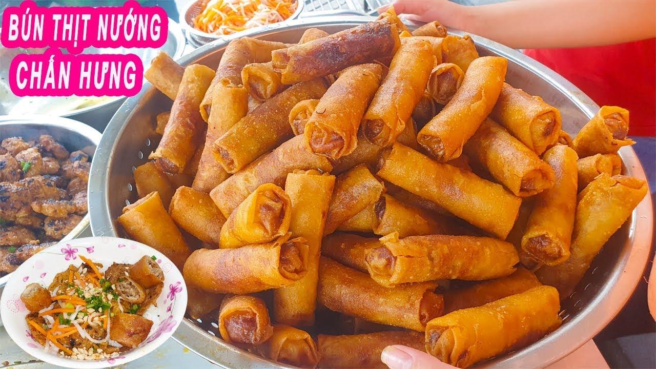 Bún Thịt Nướng 30k Miễn Phí đủ thứ nổi tiếng đường Chấn Hưng