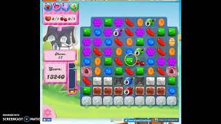 Candy Crush Level 278 Audio Talkthrough, 2 Stars 0 Boosters