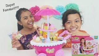 Dapet Fanmail?? Dari Siapa Ya?? ♥ Unboxing Ice Cream Candy Cart ~ Gerobak Es Krim Mainan