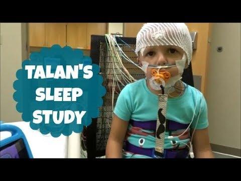 TALAN'S SLEEP STUDY! 🌛💤 | NORTON CHILDREN'S HOSPITAL
