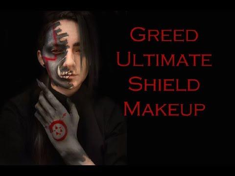 Greed Homunculus Makeup