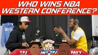 Which Western Conference team will dethrone the Warriors? | Hoops N Brews