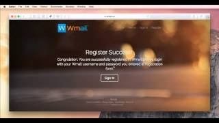 How To Register On Wmail