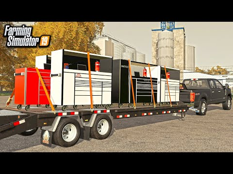 CRAIGSLIST DEAL! BUYING A LOAD OF TOOL BOXES (ROLEPLAY) | FARMING SIMULATOR 2019