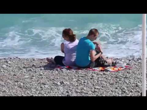 Romantic Travel | Beach in Nice, France