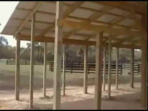 Horse Barn Stalls - Design and Dimensions - YouTube