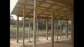 Horse Barn Stalls - Design And Dimensions