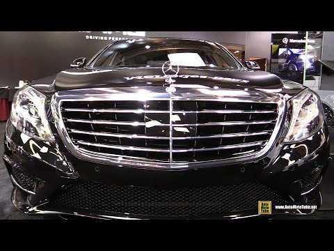 2016 Mercedes S550 4Matic - Exterior and Interior Walkaround - 2016 Montreal Auto Show