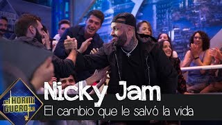 Nicky Jam cuenta el cambio que le salvó la vida: