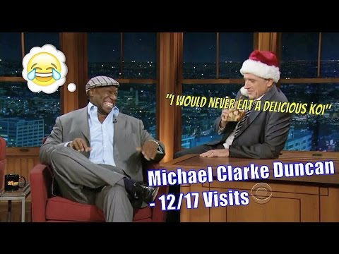 Michael Clarke Duncan - A Big Man, With An Even Bigger Heart - 12/17 Visits In Chronological Order